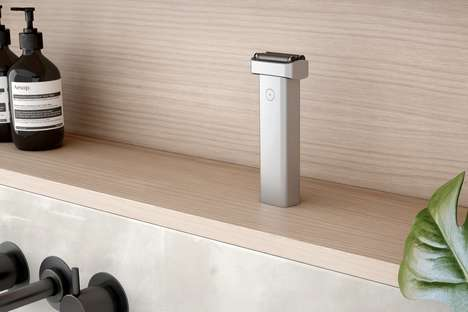Streamlined Design Face Shavers