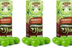 Probiotic-Infused Chocolates - The Good Day Chocolate Probiotic is Deliciously Beneficial