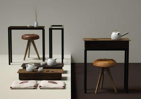Specialized Desk Tea Sets