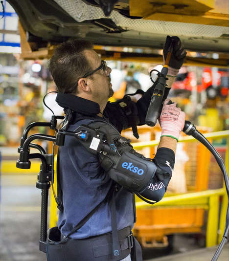 Supportive Employee Exoskeleton Suits