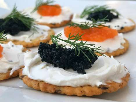 Vegan Caviar Alternatives - 'Cavi-art' is a Plant-Based Caviar Made from Seaweed