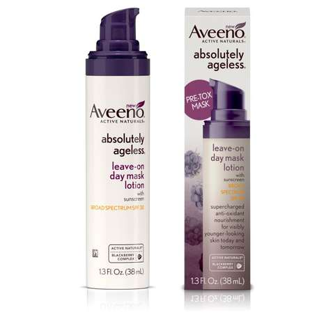 Protective Leave-On Lotions - Aveeno's Day Mask Lotion Combats Environmental Stressors