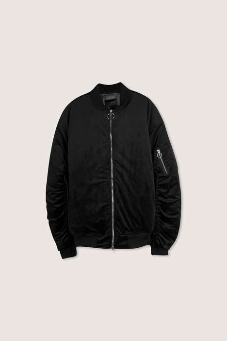 Oversized Bomber Jackets