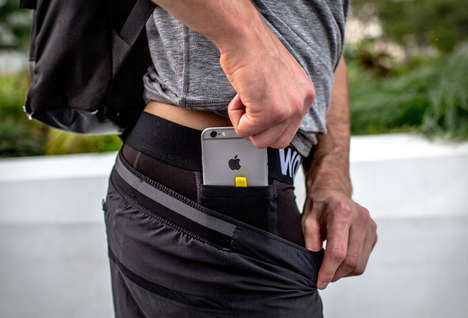 Phone-Storing Underwear