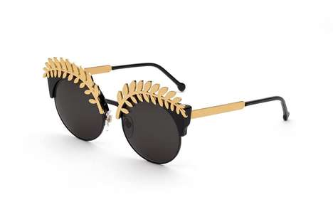 Gold-Accented Designer Shades - The Brand RETROSUPERFUTURE Released These Limited-Edition Frames