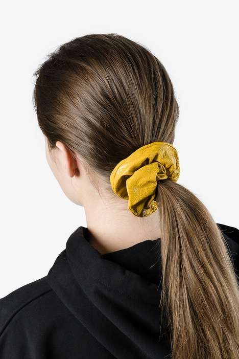 Vibrant Designer Scrunchies