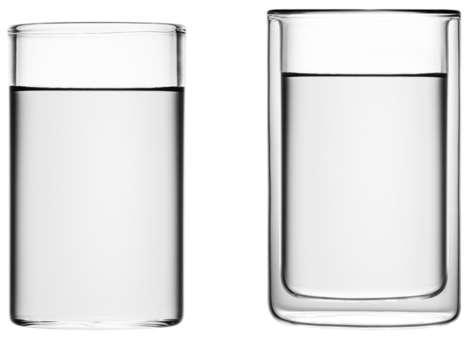 Minimalist Glassware Lines