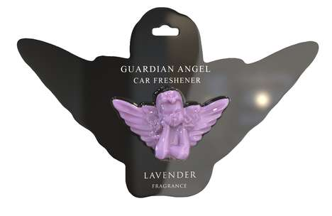 Angelic Car Fresheners - The Guardian Angel Car Freshener Emits Fresh Scents