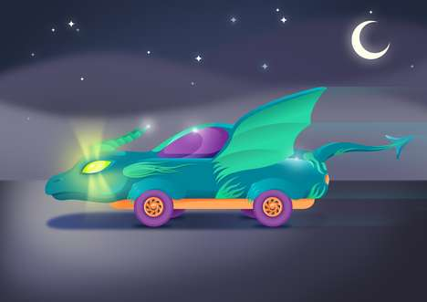 Kid-Designed Car Concepts - GoCompare Tasked Kids with Designing the Car of the Future