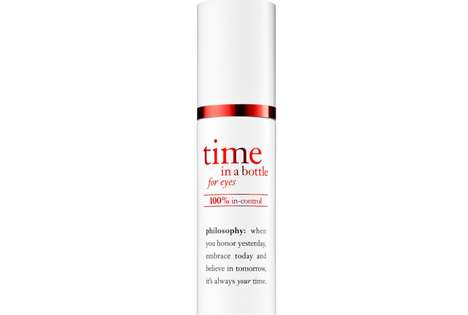 Skin-Repairing Eye Serums - Philosophy's 'Time in a Bottle for Eyes' Fights the Signs of Aging