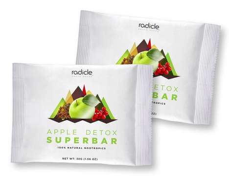 Nootropic Snack Bars - Radicle Snacks' Superbars are Packed with Brain-Boosting Ingredients