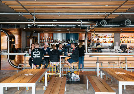 Upscale Southern-Style Bars - All Hands Brewing House Combines Comfort and Contemporary Design