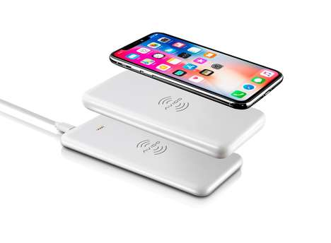 Stackable Wireless Smartphone Batteries - The Avido WiBa Offers Portable Wireless Charging