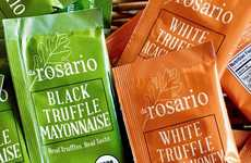 Truffle Mayo Sachets - daRosario Organics Now Makes Single-Use Truffle Mayo Packets