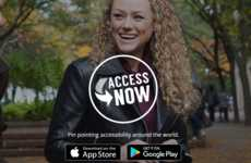 Crowdsourced Accessibility Apps - AccessNow Allows Users to Find and Rate Areas That are Accessible