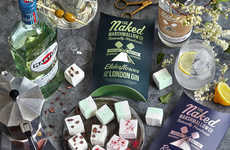 Alcoholic Marshmallow Snacks - The Naked Marshmallow Co.'s Treats Feature Gin, Liqueur & Prosecco