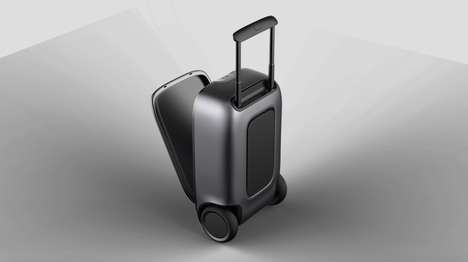 Self-Balancing Suitcases