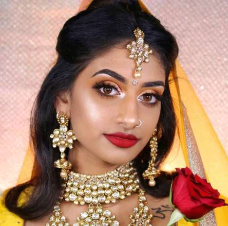 Desi Disney Princess Looks - Hamel Patel Created Disney-Inspired Looks That Feature Indian Attire