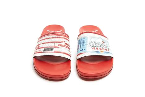 Water Bottle-Inspired Slides