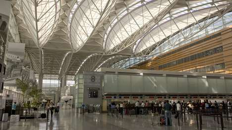 Large-Scale Airport Food Halls - San Francisco Airport's Manufactory Food Hall Will Entice Foodies