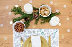 Festive Color-In Placemats