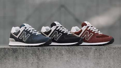 Refreshed Signature Sneakers - The New Balance Classic 574 Has Been Updated for a New Era