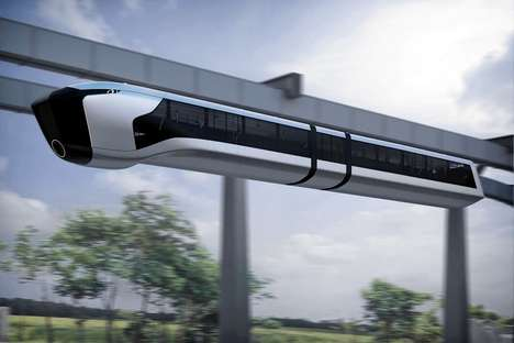 Energy Generating Monorails