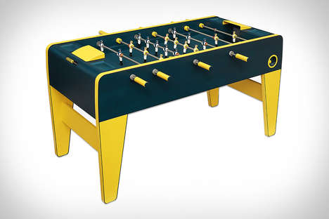 Haute Fashion Foosball Tables - The Hermes Foosball Table is Crafted from Premium Materials