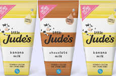 Healthy Kid-Friendly Milks - The New Little Jude's Flavored Milks are Fortified with Vitamins