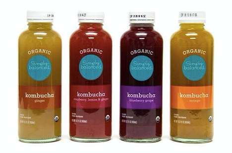 Affordably Priced Kombuchas - Target's Simply Balanced Kombuchas Make the Health Drink Accessible