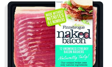 Nitrate-Free Bacon Strips - Marks & Spencer is Now Selling Bacon Free of Nitrites and Preservatives