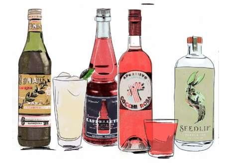 Aperitif-Inspired Drink Menus