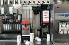 Burger Chain Hot Chocolates - In-N-Out Now Offers Hot Cocoa at Select Restaurants