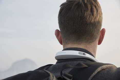 360-Degree Neckband Cameras - The 'FITT360' Wearable Camera Seamlessly Records Experiences