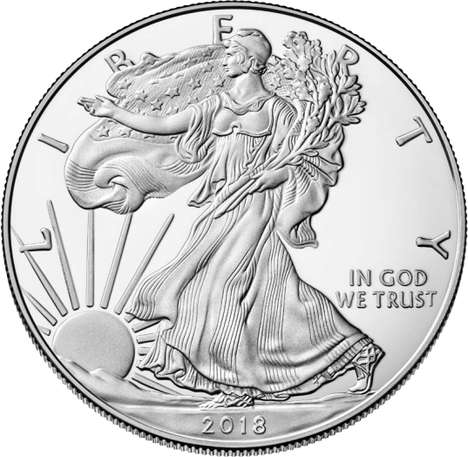 Patriotic Fine Silver Coins - The American Eagle Silver Proof Coin Launched on January 4th