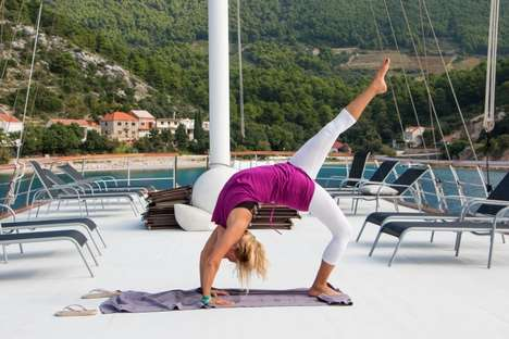 Calming Yoga Cruises - Katarina Line Offers a Yoga Cruise Through South Dalmatia