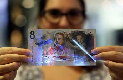 Exclusive Film-Commemorating Banknotes - This Unique 'Star Wars' Money Was Auctioned Off on eBay