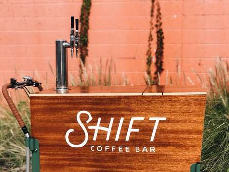 Mobile Nitro Brew Bars - Shift Coffee Bar Offers Artisanal Beverages on Wheels