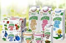 Oat-Based Yogurts - Dairy Brand Valio's 'Oddlygood' Non-Dairy Yogurt is Made with Finnish Oats