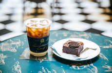 Fashionable Cafe Popups - La Boutique's Jardin De La Boutique Activation Partners with Bhava Cafe