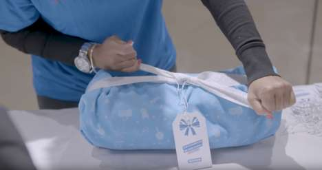 Sporty Reusable Gift Wrap - Decathlon's Gift Wrapping Doubles as Basic Sports Gear