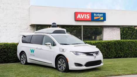 Connected Rent-a-Car Fleets - Avis' Wireless Fleet of Cars Was Tested in Kansas City