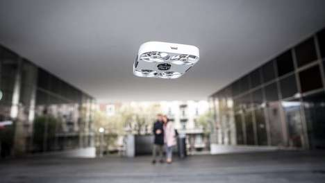 Second Generation Selfie Drones - Compact Selfie Drone 'AirSelfie 2' Was Unveiled at This Year's CES