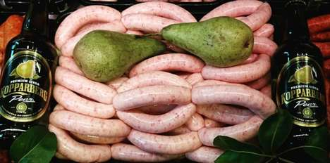 Alcohol-Flavored Sausages - George McCartney Created Sausages That Taste of Gin and Cider