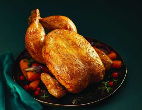 Prosecco-Infused Chickens - Aldi's Festive British Chicken is Basted with a Boozy Marinade