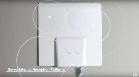 Optimized Wireless TV Antennas