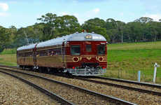 Solar Panelled Heritage Trains - This Eco-Friendly Restored Train in Australia Runs on Solar Power