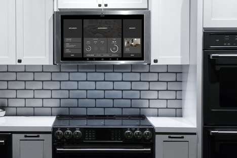 Home Control Kitchen Displays - The GE Appliances Family Hub Kitchen Tablet Debuted at CES 2018