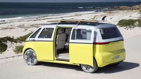 Tech-Infused Vintage Concept Vehicles