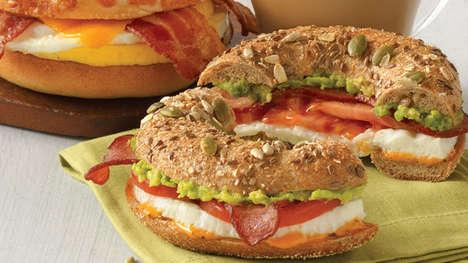 Avocado-Topped Breakfast Meals